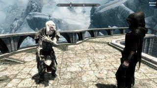 Skyrim Dawnguard DLC - Внутреннее святилище (Inner Sanctum) Лук Ауриэля (Auriel's Bow)