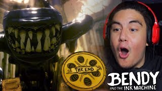 The END of Bendy is HERE!! | Bendy and The Ink Machine Chapter 5