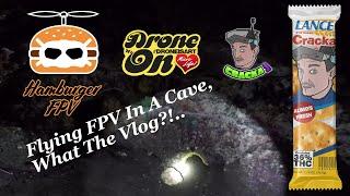 My First FPV Vlog | Flying Drones Underground | Dames Cave, Lecanto FL | FPV Vlog & Bando Footy | ⋖3
