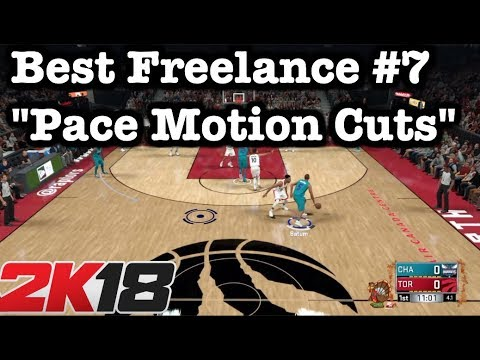 NBA 2K18 Best Plays Top Freelance Offense Tutorial: Pace Motion Cuts 2K18 Tips #49