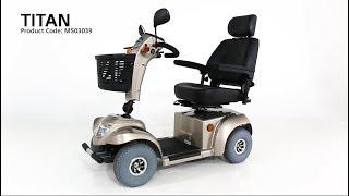 CareCo Titan 6-8 Mph Mobility Scooter