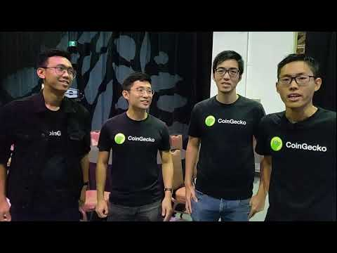 CoinGecko is live at Invest:Asia 2019
