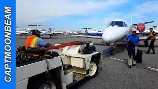 TRAFFIC ALERT! Cessna Citation Landing Teterboro Airport, Pilot Vlog 72