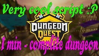 roblox new map dungeon quest hack script pastebin 2019 - Thủ