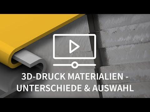 Unterschiede von 3D-Druck Materialien | Protolabs