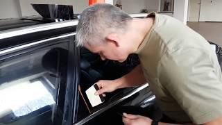 Bezinwazyjne przyciemnianie szyb tylnych drzwi w Audi A6