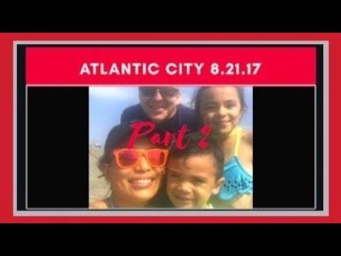 Atlantic City Day 2 (Solar Eclipse, beach ) Summer 2017