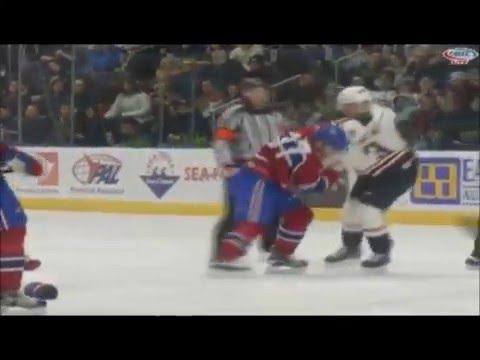 Jonathan Racine vs Jeremy Gregoire