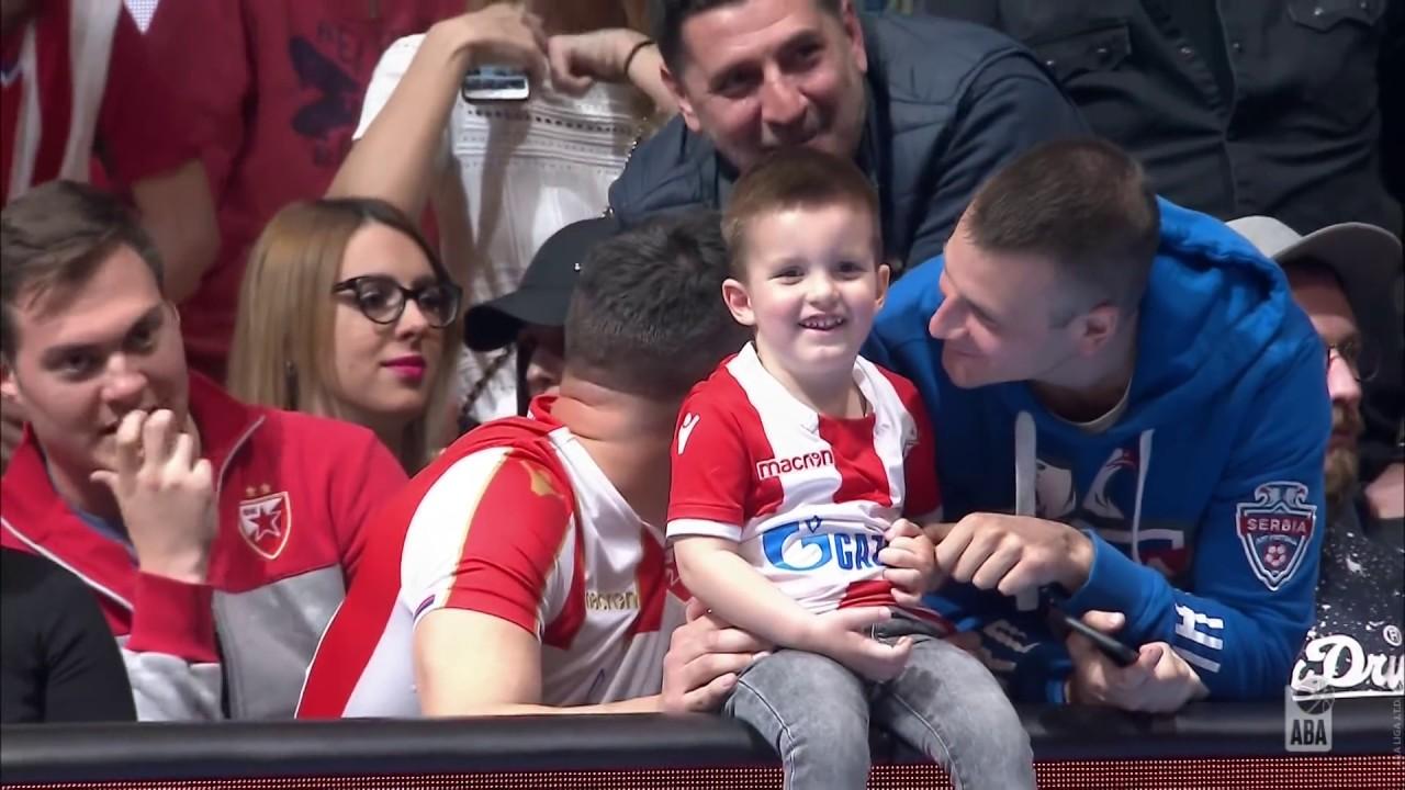 ABA Liga 2018/19, Semi-finals Round 1 match: Crvena zvezda mts - Partizan NIS 106:101