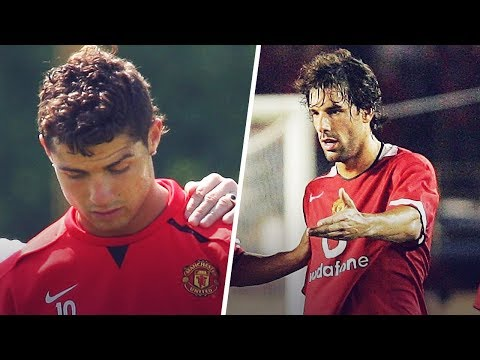 The day Ruud van Nistelrooy made Cristiano Ronaldo cry | Oh My Goal