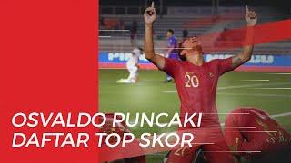 Selalu Cetak Gol, Osvaldo Haay Makin Kokoh di Puncak Top Skor SEA Games 2019