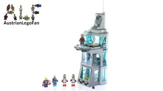 Lego Super Heroes 76038 Attack on Avengers Tower - Lego Speed Build Review