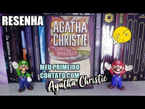 RESENHA: Um Corpo na Biblioteca - Agatha Christie   DNA Literário