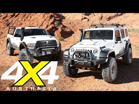AEV Jeep Wrangler JK350 and RAM Prospector XL | Road test | 4X4 Australia