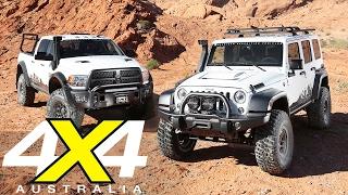 AEV Jeep Wrangler JK350 And RAM Prospector XL | Road Test | 4X4 Australia