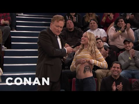 """Conan Plays """"3 About Me"""" With The Studio Audience  - CONAN on TBS (видео)"""