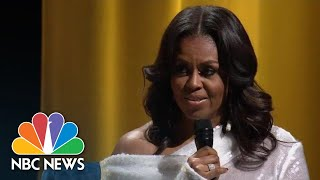 Former First Lady Michelle Obama Describes Life In The White House   NBC News