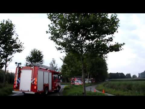 Ongeval met beknelling in Sambeek