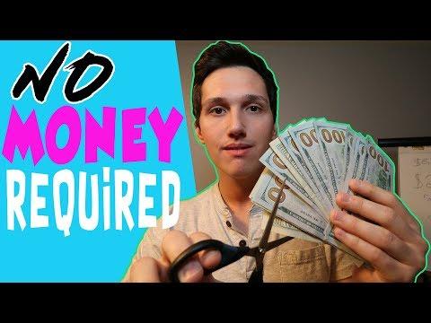 Kaip galite užsidirbti pinigų neinvestuodami