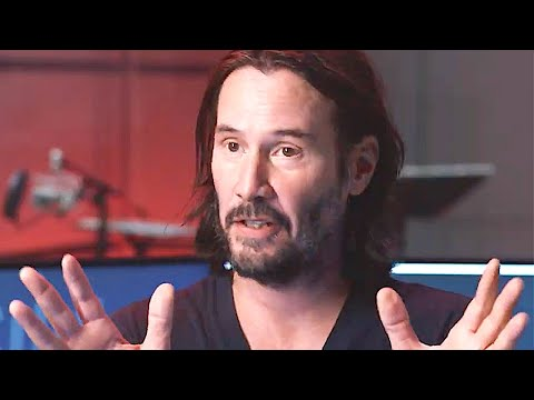 CYBERPUNK 2077 Keanu Reeves Behind the Scenes + Trailer (2020) Video Game