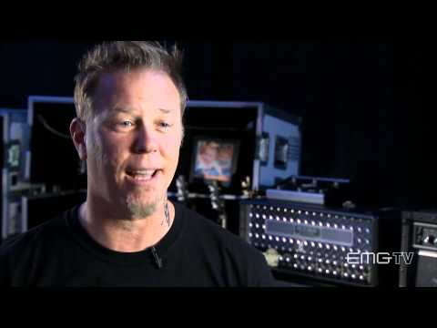 James Hetfield of Metallica talks about getting his signature tone with EMGtv