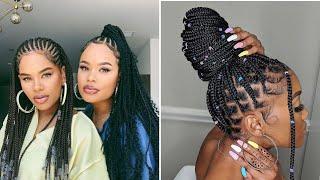 AMAZING HAIR BRAIDING STYLES 2020 - Cute Instagram Braid Styles Tutorial For Black Women
