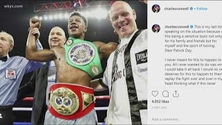 Boxer Patrick Day dies of brain injuries after fight with Cleveland Heights native Charles Conwell