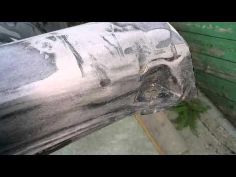 Как восстановить стекловолокном автомобильные пороги