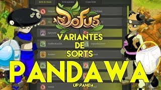 PANDAWA : VARIANTES DE SORTS up panda