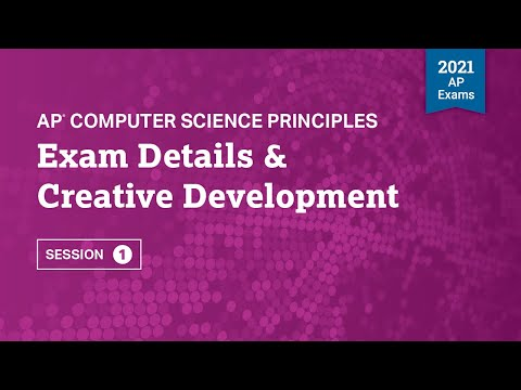 Exam Details & Creative Development | Live Review Session 1 | AP ...