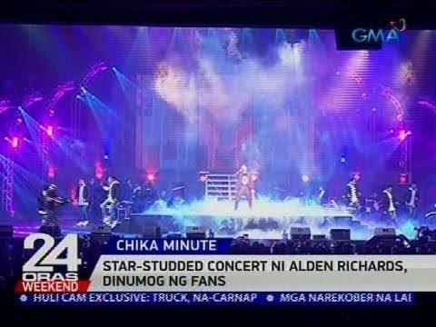[GMA]  Star-studded concert ni Alden Richards, dinumog ng fans