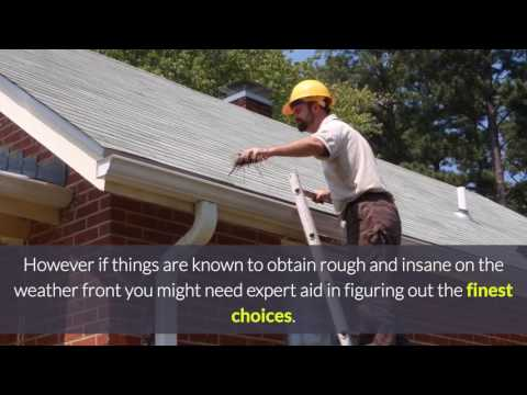 Choosing the very best Gutters For Your Home