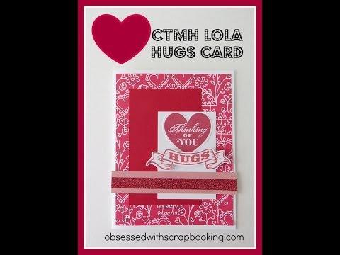 Birthday Card Made With Ctmh Cricut Artiste Cartridge