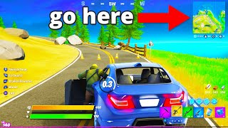 HOW TO DRIVE CARS in FORTNITE!