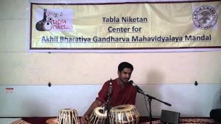 Ashish's Visharad Dwitiya Tabla Solo