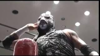 Star Battle Japan  Lucha Libre AAA  Rey Misterio, Akebono & Marufuji Vs Pentagón, Texano & Cage
