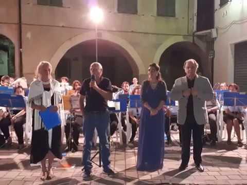 LA BANDA 'CITTÀ DI ALASSIO' ALLA FESTA PATRONALE DI SAN BARTOLOMEO AL MARE