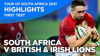 South Africa v British & Irish Lions - First Test | Highlights | 2021 | Tour of South Africa