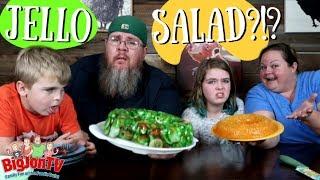 Jello Garden Salad & Sunshine Salad || Funky Food Friday