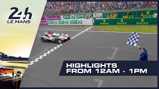 2019 24 Heures Du Mans - HIGHLIGHTS From 12AM - 1PM (GMT)