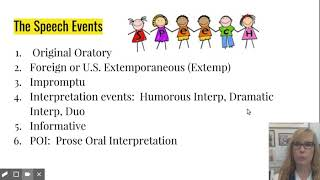 How to Judge Speech Events at High School Speech Tournaments