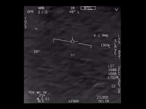 AATIP Go Fast UFO Raw Footage