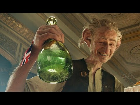 The best funny movement in the BFG movie/HD IN HINDI /AB STYLE