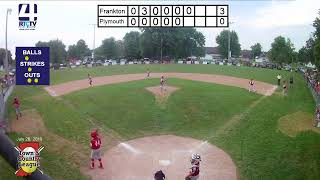 Town and Country 12U State Finals Game #3 Frankton vs Plymouth 7-26-19