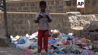 Uncollected waste leading to disease