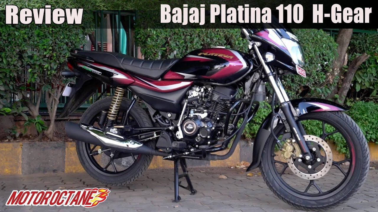 Motoroctane Youtube Video - Bajaj Platina 110 H-Gear ka Review | Hindi mein | MotorOctane
