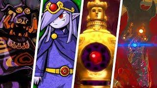 Evolution Of Hardest Legend Of Zelda Boss Battles (1986   2018)