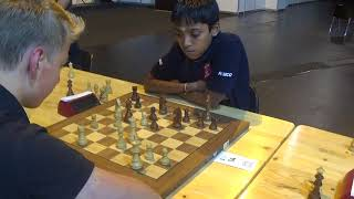 Chukavin Kirill - GM Praggnanandhaa Rameshbabu, Sicilian defense, Blitz chess