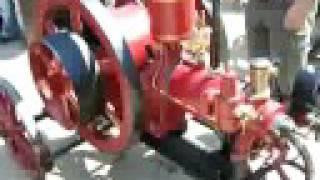 preview picture of video 'Stabilní motor (stationary engine, running) L. BENZ.'