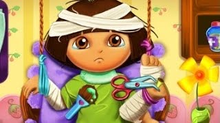 NickJr Dora Hospital Recovery - NickJr Dora Games - Nickelodeon Dora The Explorer Games for Kids!